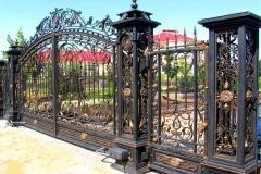 Кованые воротаКованые ворота