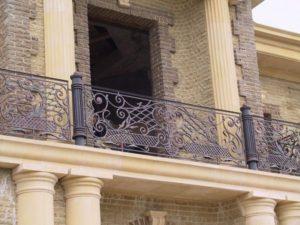 Кованые балконы в Минске