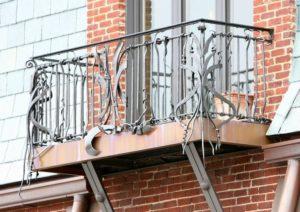 Кованые балконы купить в Минске