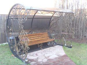 кованые скамейки в Минске